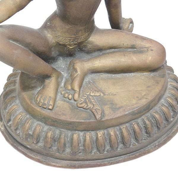 印度 青銅神像 仏像 共箱|antiquesjikoh|08