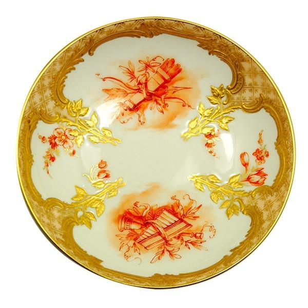 KPM ベルリン王立磁器製陶所 金彩カップ&ソーサー  |antiquesjikoh|09