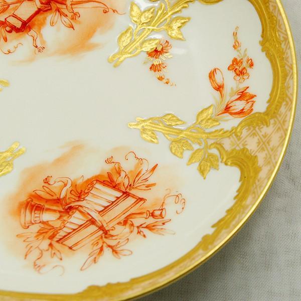 KPM ベルリン王立磁器製陶所 金彩カップ&ソーサー  |antiquesjikoh|10