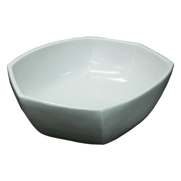竹中浩 白磁 六角 鉢|antiquesjikoh|03