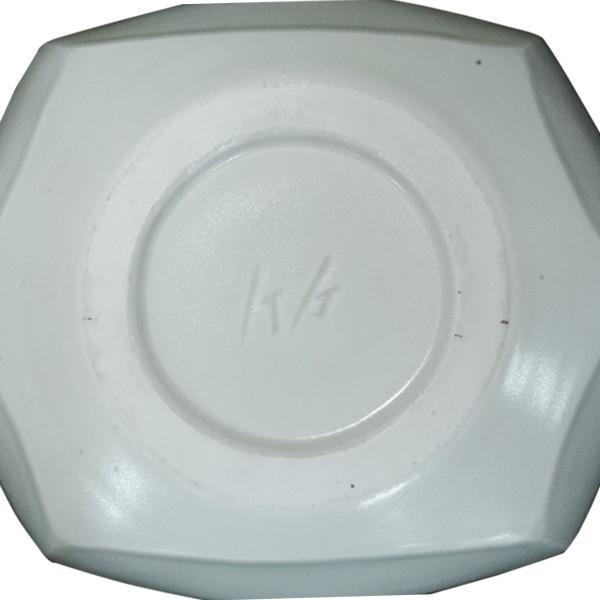 竹中浩 白磁 六角 鉢|antiquesjikoh|04