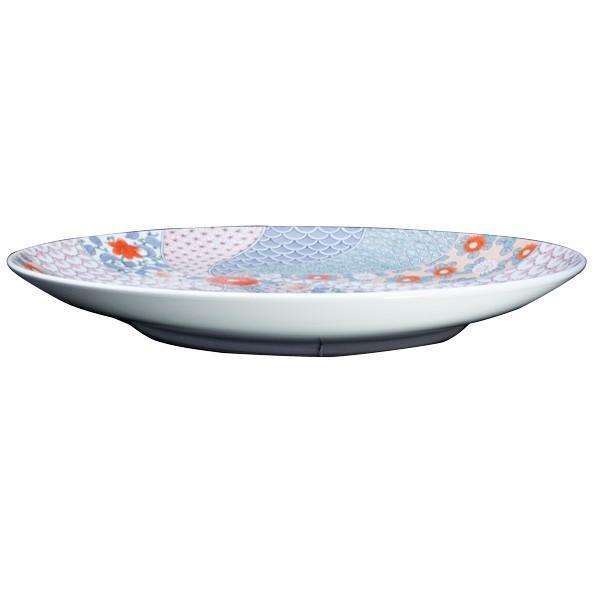 花井山泉 作 色鍋島 額皿 直径46cm|antiquesjikoh|03