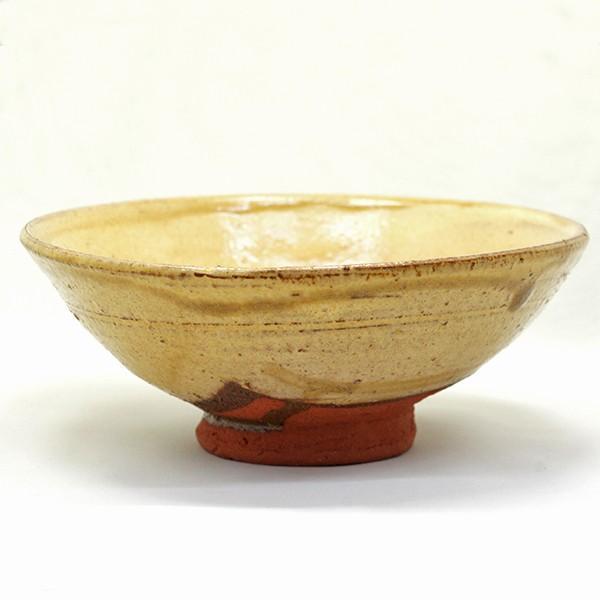 今井政之 「黄伊羅保」 平茶碗  |antiquesjikoh|02