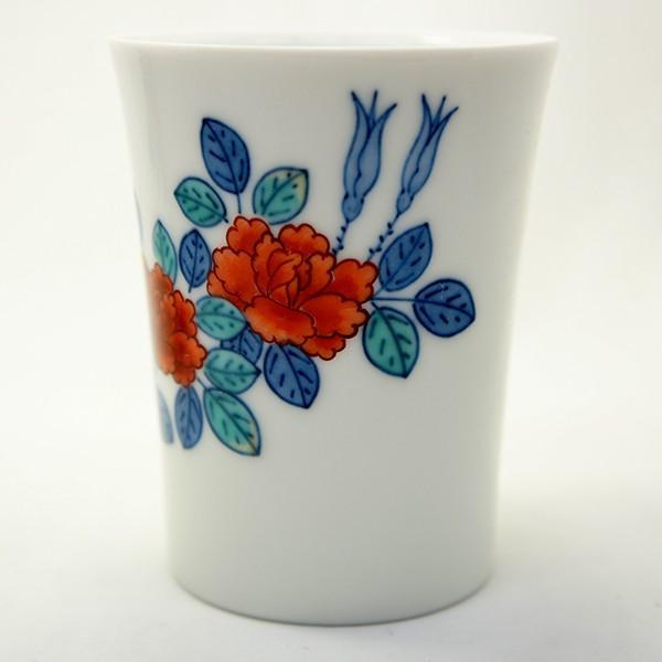 今右衛門 「錦花絵杯」 カップ 十三代窯元 未使用品|antiquesjikoh|03