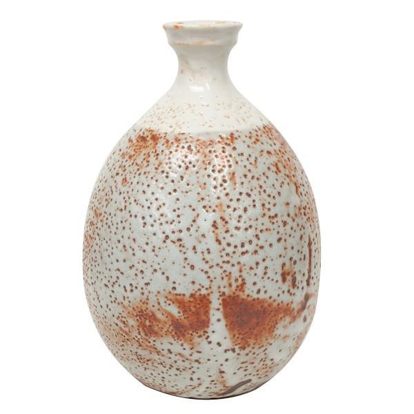 高木典利 「志野壺」 花器 花瓶 共箱|antiquesjikoh|03