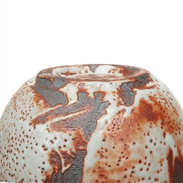 高木典利 「志野壺」 花器 花瓶 共箱|antiquesjikoh|09