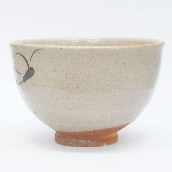 鏡山窯 井上東也 絵唐津茶碗 共箱|antiquesjikoh|03