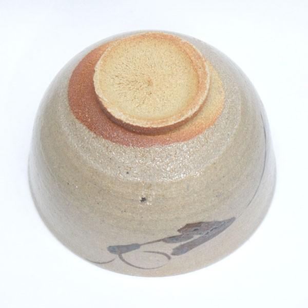 鏡山窯 井上東也 絵唐津茶碗 共箱|antiquesjikoh|09