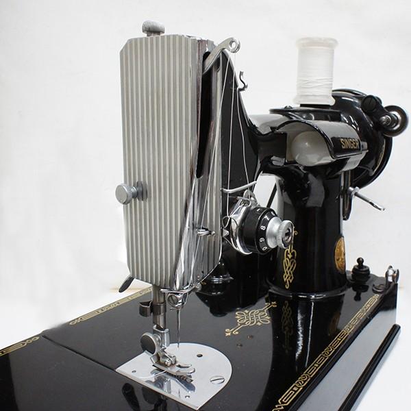 シンガーミシン アンティーク 電動式 稼働品|antiquesjikoh|02
