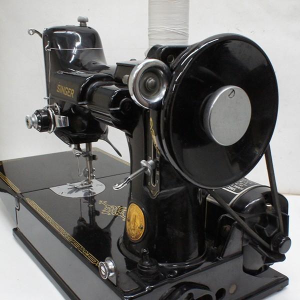 シンガーミシン アンティーク 電動式 稼働品|antiquesjikoh|03