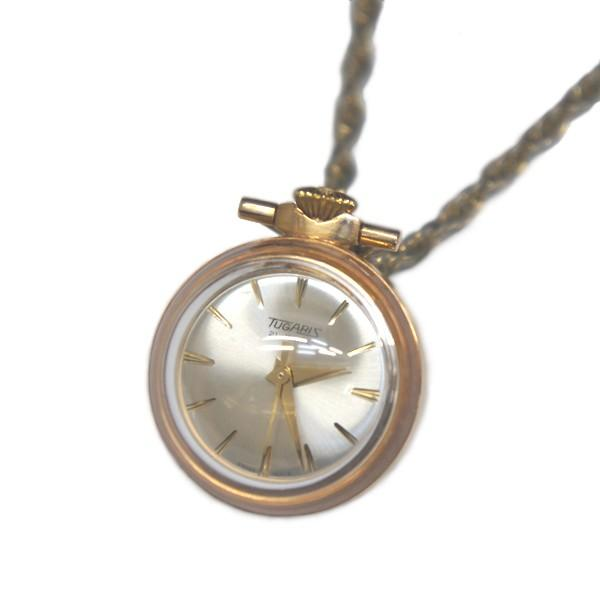 TUGARIS ペンダントウォッチ  スイス製 手巻き時計|antiquesjikoh