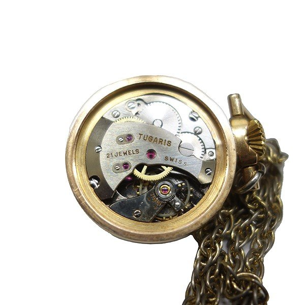 TUGARIS ペンダントウォッチ  スイス製 手巻き時計|antiquesjikoh|07