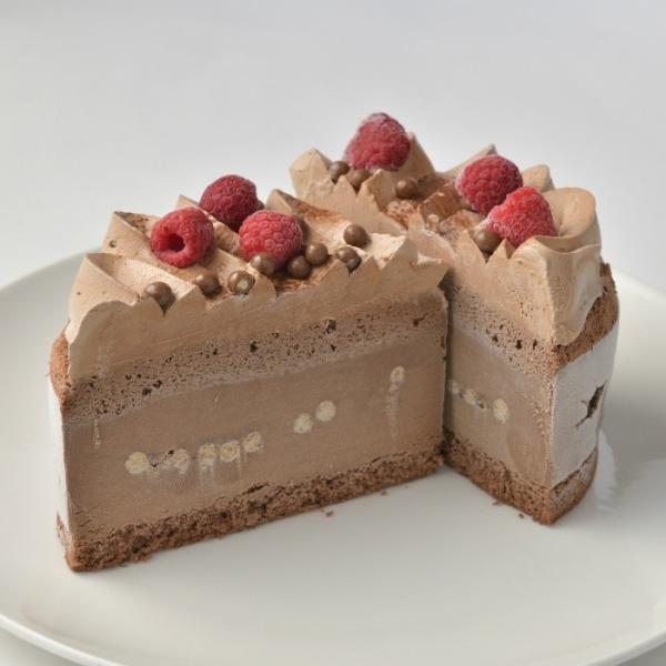 アイスケーキ チョコレート 【 アイスクリーム ギフト 誕生日 お祝い プレゼント スイーツ バースデー お取り寄せ 目黒】熨斗対応|antoinecareme-meguro|04