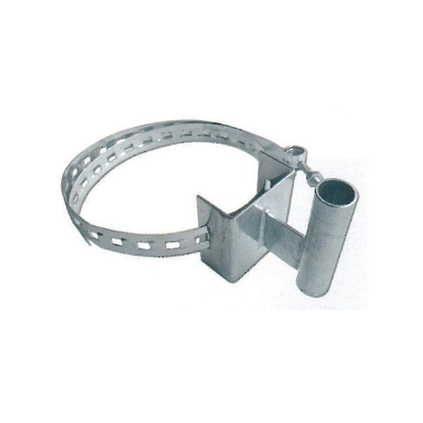 カーブミラー・電柱用 取付金具 支柱部分直径48.6mm ナック・ケイ・エス|anzen-signshop