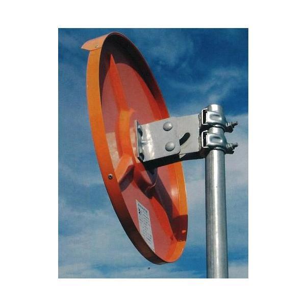道路反射鏡(カーブミラー)単管用取付金具 カーブミラー取付金具 ナック・ケイ・エス|anzen-signshop|02
