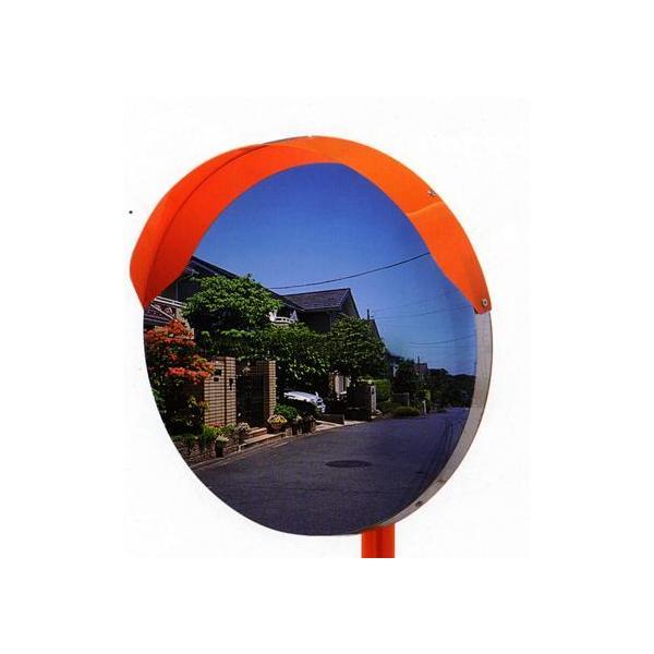 丸型カーブミラー 500φ アクリル製 道路反射鏡 ナック・ケイ・エス|anzen-signshop