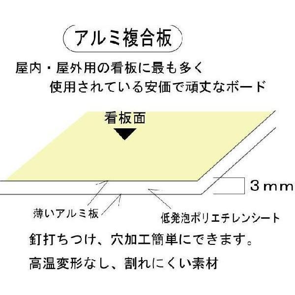 建設業の許可票 事務所用 文字記入 約H392×W508mm シルバー地|anzen-signshop|04
