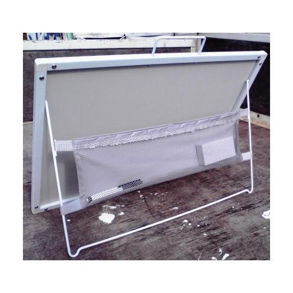 スチール製黒板 全天候型黒板 工事用黒板 ハイブリッドボード 工事名・会社名記入商品 anzen-signshop 03