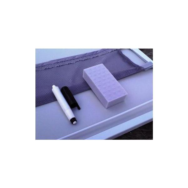 スチール製黒板 全天候型黒板 工事用黒板 ハイブリッドボード 工事名・会社名記入商品 anzen-signshop 04