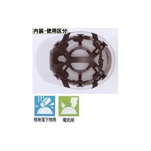 ヘルメット 野球帽タイプアメリカンスタイル ヘルメット 工事用 FNII−1 anzen-signshop 02