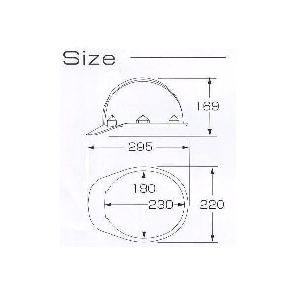 ヘルメット 野球帽タイプアメリカンスタイル ヘルメット 工事用 FNII−1 anzen-signshop 04