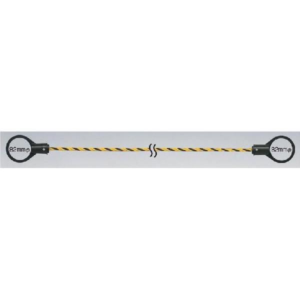 区画用 コーン用トラロープ 1.5m 5本セット 872-45 anzen-signshop 02