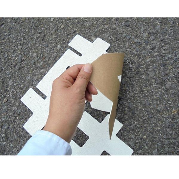 駐車場用路面表示シート 駐車場用文字シート 「軽」 1文字 小 835-018|anzen-signshop|02