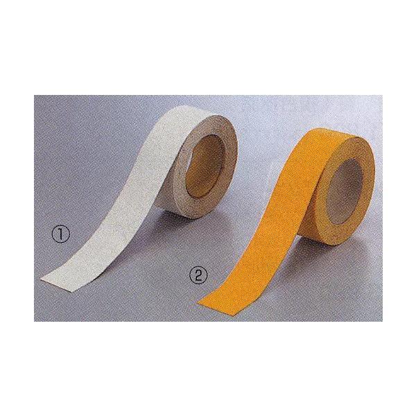 駐車場用路面専用テープ(粘着性) 50mm幅×5m 白・黄 TP-200 anzen-signshop
