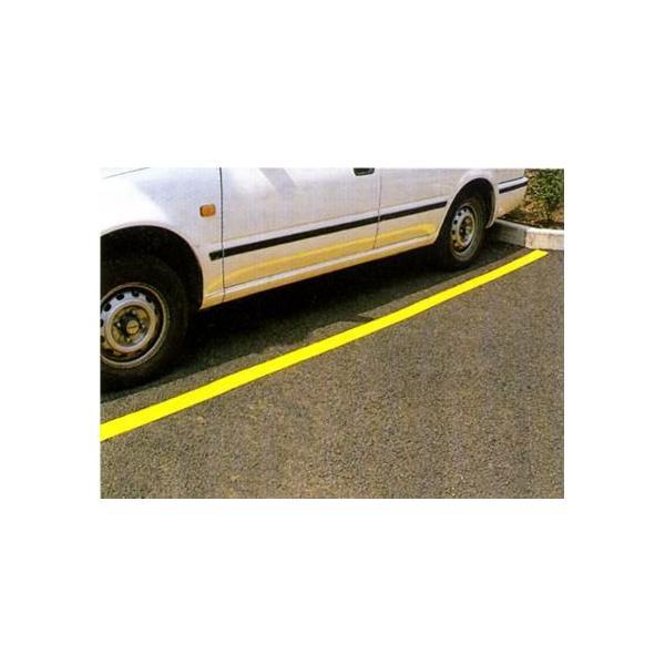 駐車場用路面専用テープ(粘着性) 50mm幅×5m 白・黄 TP-200 anzen-signshop 02