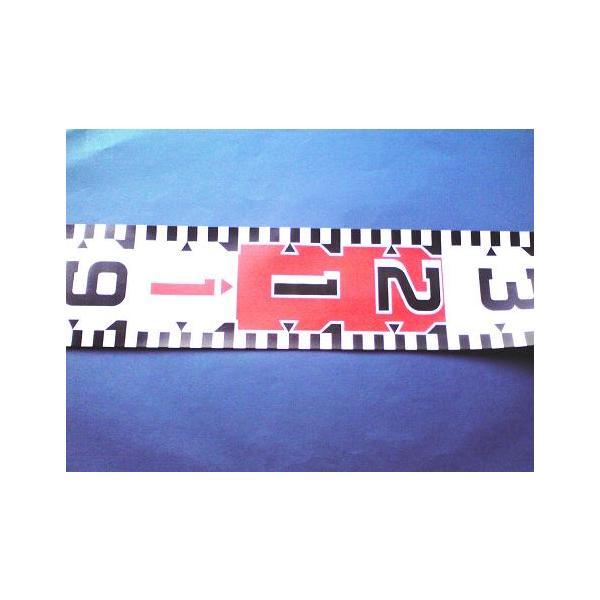 測量用 リボンテープ リボンロッド 5m 120mm幅 両サイド目盛遠近両用 E-2
