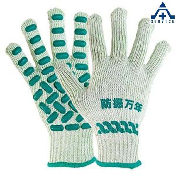 弘進ゴム 防振手袋 防振万年 #850 3双セット  軍手 グローブ 作業手袋 作業用手袋