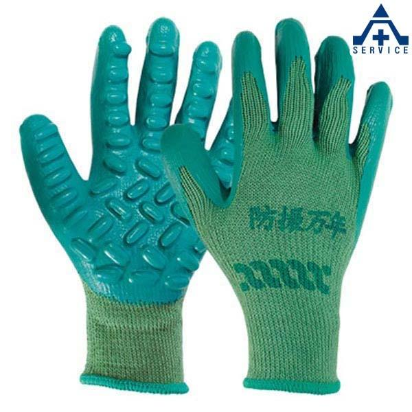 弘進ゴム 防振手袋 防振万年 #800 3双セット  軍手 グローブ 作業手袋 作業用手袋