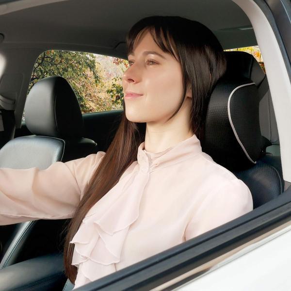 車用 ネックパッド U字型 ネックピロー 低反発 首枕 頚椎サポート クッション ヘッドレスト 爽快通気性 枕 旅行 運転 ストレス解消 ドライブ (|aobashop|05