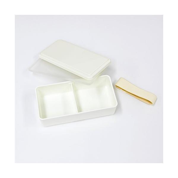 GEL-COOL ランチボックス 保冷剤一体型 スクエア SG オイスターグレー 0101-0120|aobashop|05