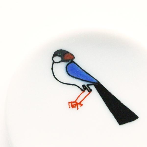 小鳥の箸置セットB KUTANI SEAL クタニシール 九谷焼 KS2-41 箸置き 送料200円 1万円以上送料無料|aodama-zakka|12