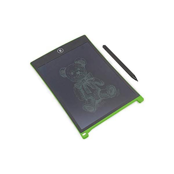 ZAZ 電子メモパッド LCDメモパッド デジタルメモパッド 8.5インチ (グリーン) LCD-05-green|aohama-y