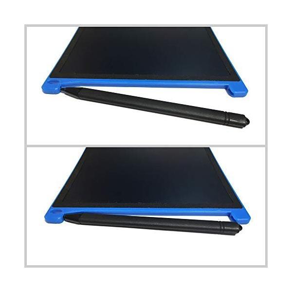 ZAZ 電子メモパッド LCDメモパッド デジタルメモパッド 8.5インチ (グリーン) LCD-05-green|aohama-y|03