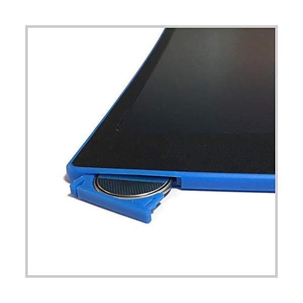 ZAZ 電子メモパッド LCDメモパッド デジタルメモパッド 8.5インチ (グリーン) LCD-05-green|aohama-y|04