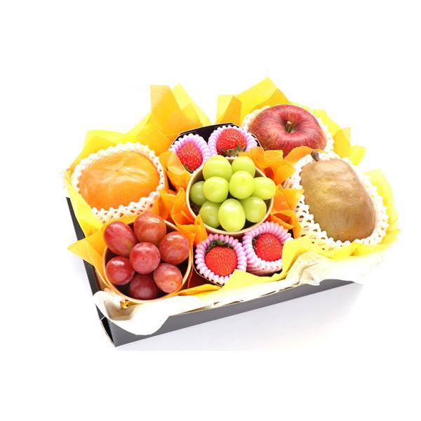 【青木フルーツ】マイスターセレクトB[黒ぶどうまたは赤ぶどう シャインマスカット りんご 柿 洋梨 いちご](クール便)