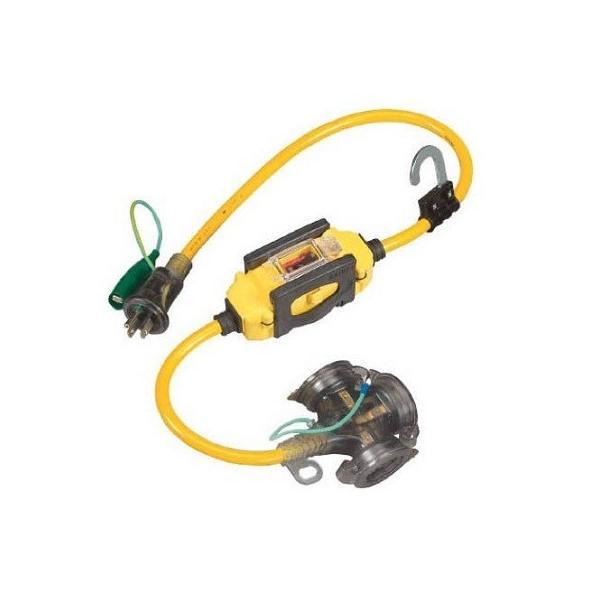 ハタヤBFX延長コードBFX-013KC漏電遮断器付過負荷短絡保護兼用タイプ0.7m
