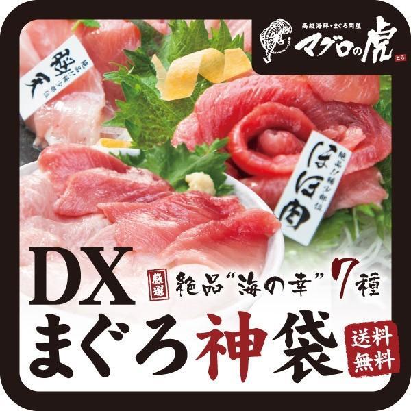 海鮮丼 DX マグロ神袋セット 本まぐろ お取り寄せ グルメ ギフト まぐろ 鮪|aomonya