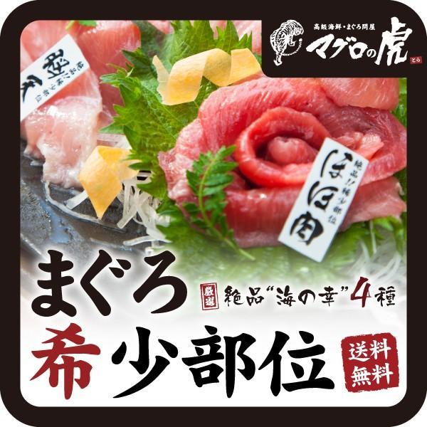 海鮮丼 ハチノミ入り マグロ希少部位セット