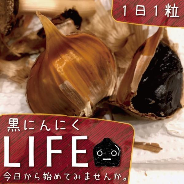 黒にんにく 青森県産 波動 バラ 250g 詰め合わせ お徳用 約3~4週間分 送料無料|aomorihiba|08