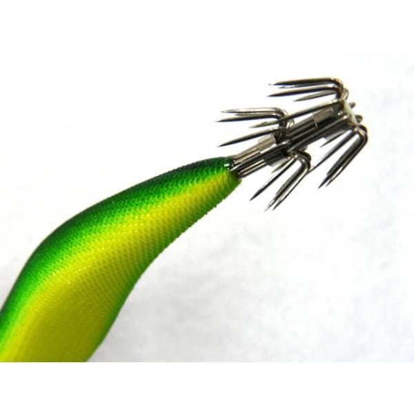 キーストン(KEYSTONE) エギシャープ(Egi Sharp) 3.8号V2 イエローグローベース/グリーン ES38V2-YG