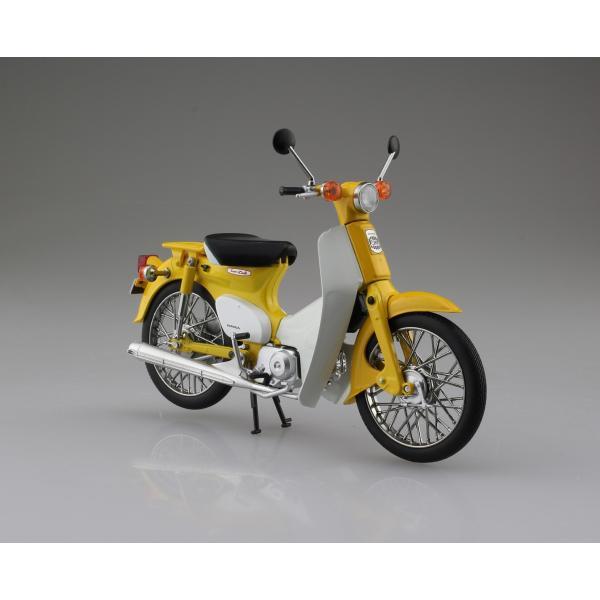 [予約6月発送予定]Honda スーパーカブ50 イエロー(オンラインショップ・各イベント限定商品) 1/12 完成品バイク   #完成品