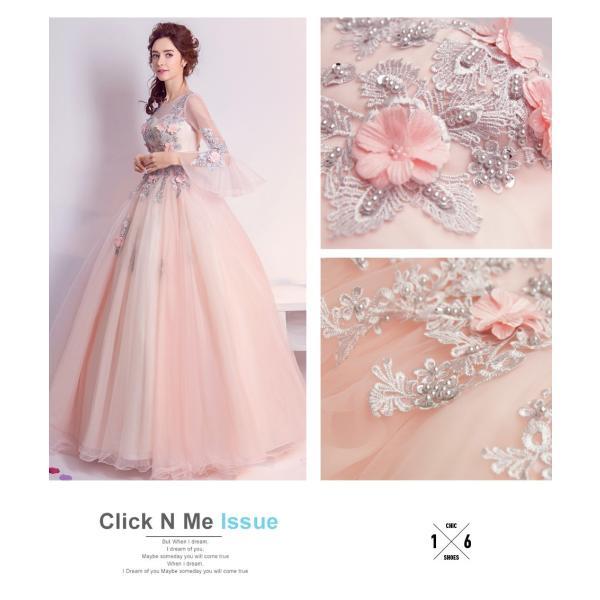 ウェディングドレス 二次会 ウエディングドレス ロング 二次会ドレス パーティードレス ロングドレス 花嫁ドレス カラードレス 結婚式|aozoras|10