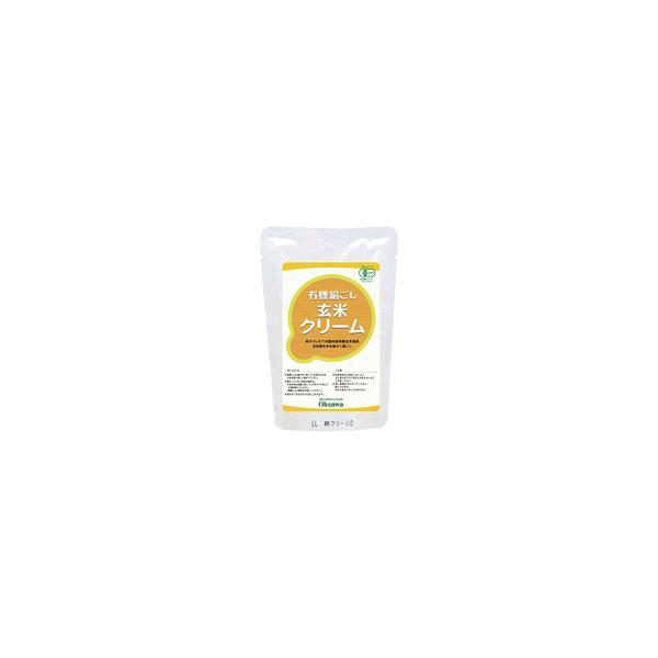 有機絹ごし玄米クリーム 200g×20袋セット
