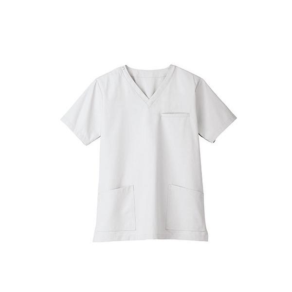 スクラブ 白衣 医療用白衣 白衣 スクラブジャケット 新作 静電 医療 クリニック 制服 ユニフォーム 即日発送可|ap-b|13
