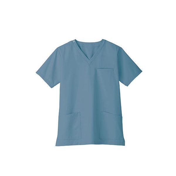 スクラブ 白衣 医療用白衣 白衣 スクラブジャケット 新作 静電 医療 クリニック 制服 ユニフォーム 即日発送可|ap-b|15