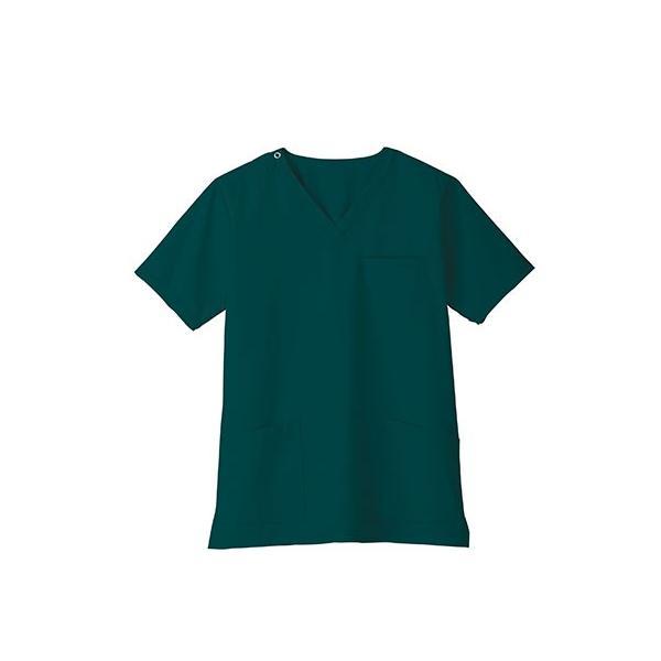 スクラブ 白衣 医療用白衣 白衣 スクラブジャケット 新作 静電 医療 クリニック 制服 ユニフォーム 即日発送可|ap-b|16